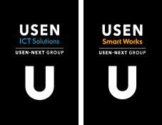 USEN ICT Solutions USEN Smart Works ロゴ