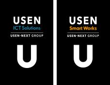 USEN ICT Solutions USEN Smart Works ロゴ