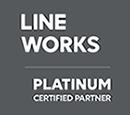 LINE WORKS プラチナパートナー
