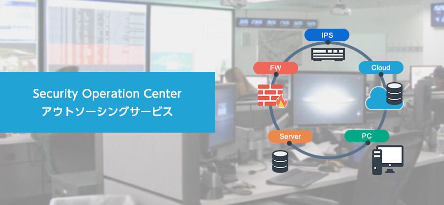 Security Operation Center アウトソーシングサービス